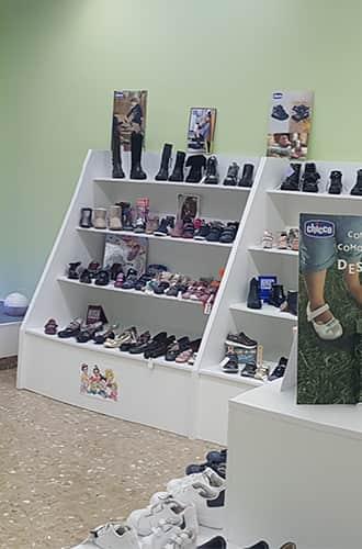 Interior Chikihuellas, calzado infantil en Almeria