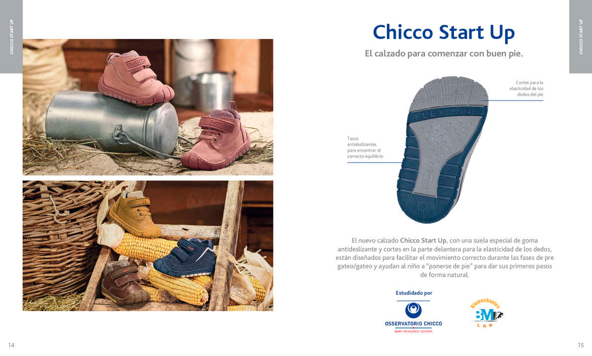 Chicco Start Up, zapatos para bebés en Chikihuellas