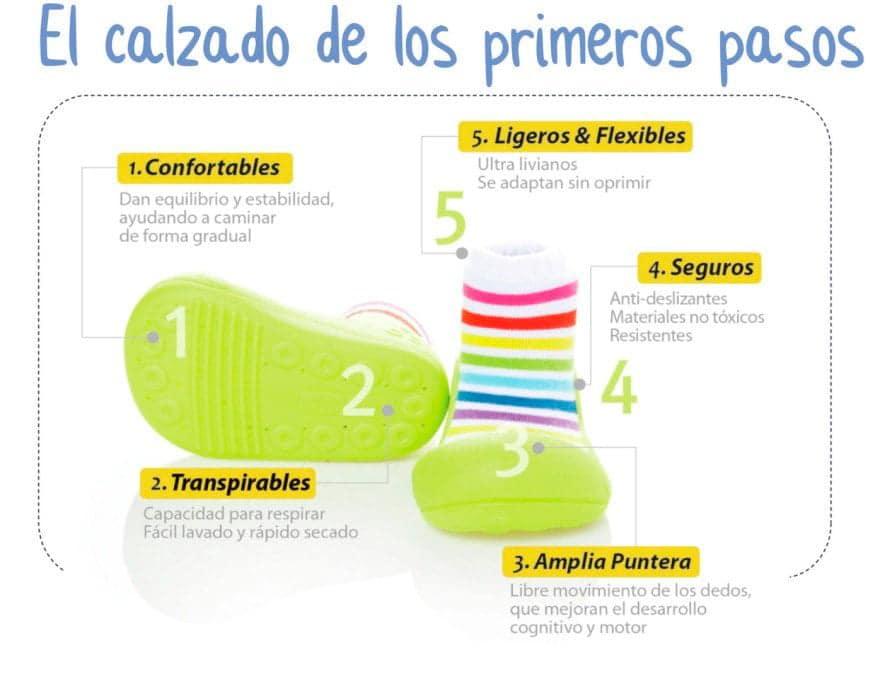 El calzado de los primeros pasos con Attipas