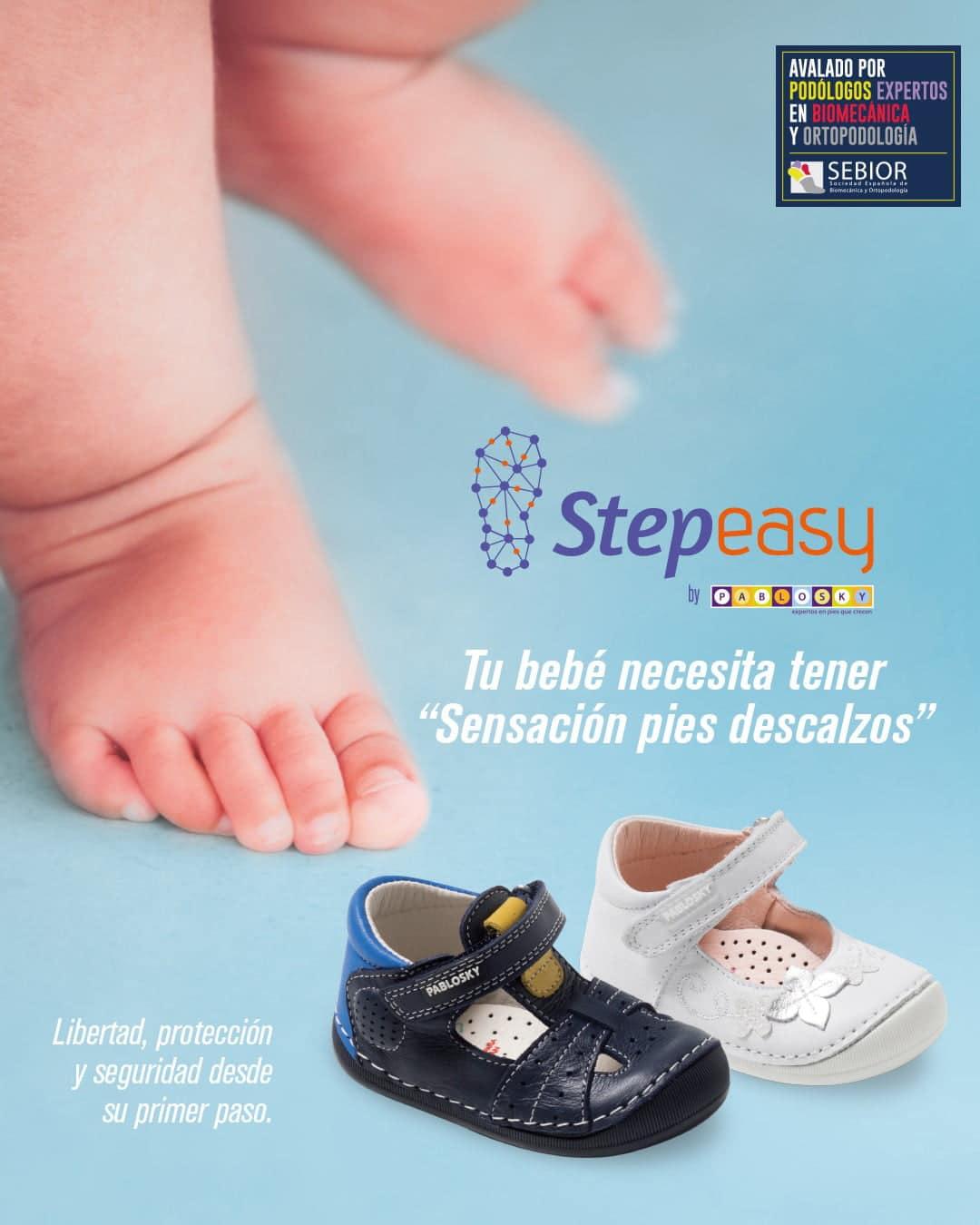 Step Easy, calzado infantil para los primeros pasos