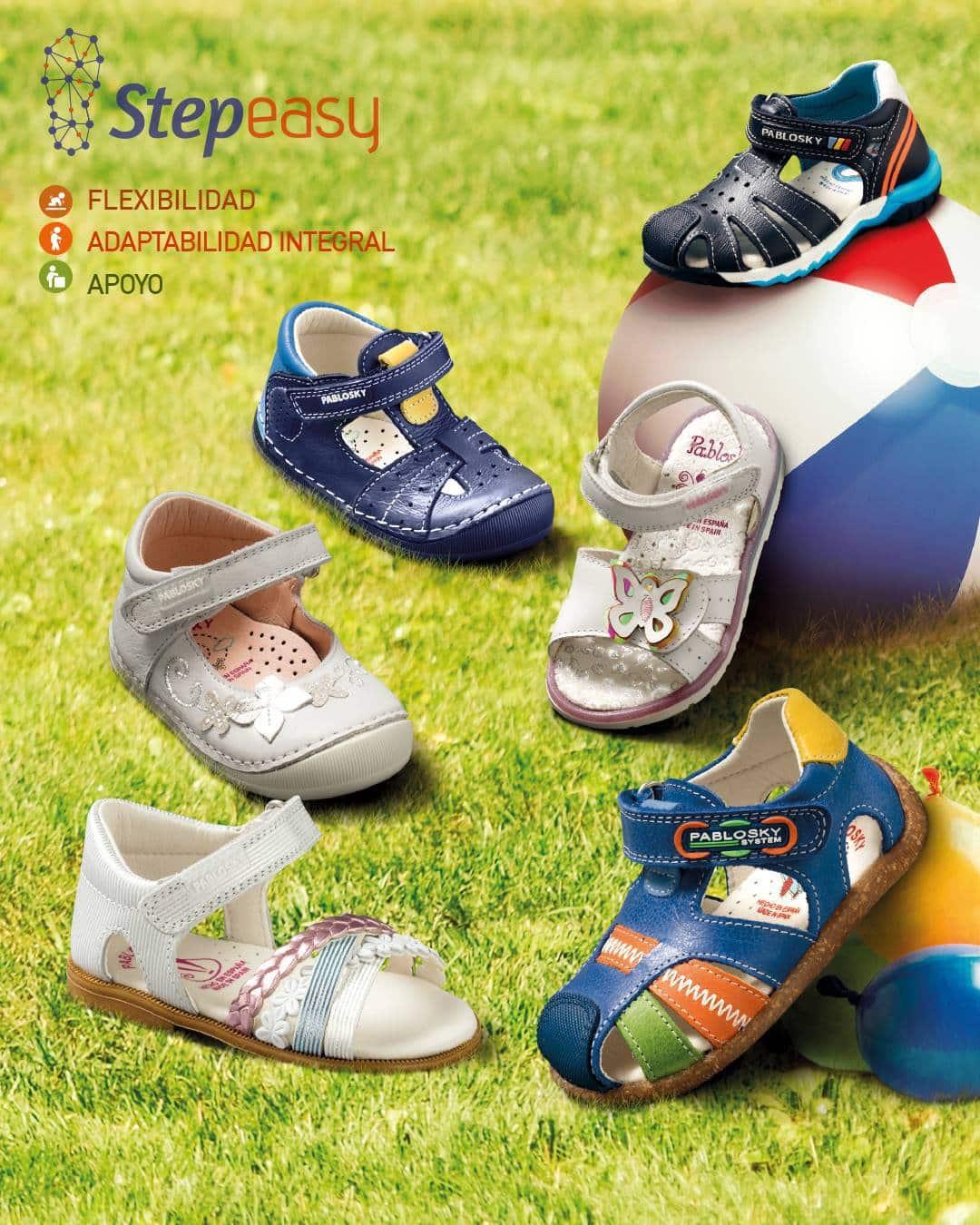 Step Easy, calzado infantil para primeros pasos