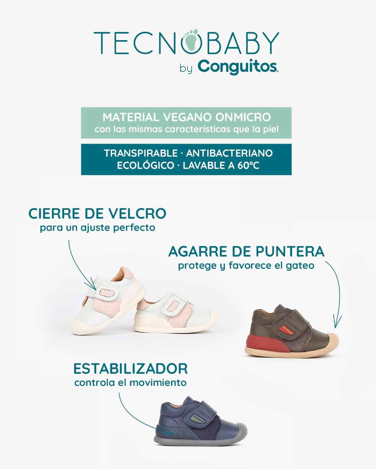 Tecnobaby by Conguitos, zapatos primeros pasos