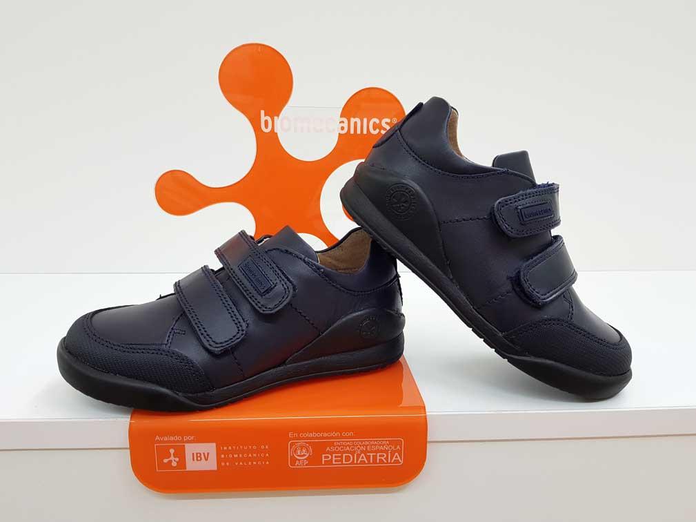 calzado de piel niños